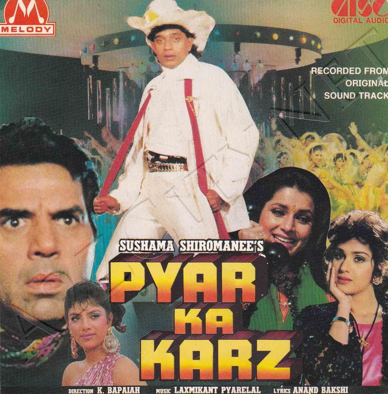 Pyar Ka Karz 1990 Flac Bollywood Movie Songs Audio Songs Bollywood Songs
