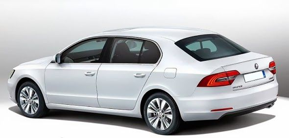 new car releases 2015New Release 2015 Skoda Superb Estate Review Back Side View Model