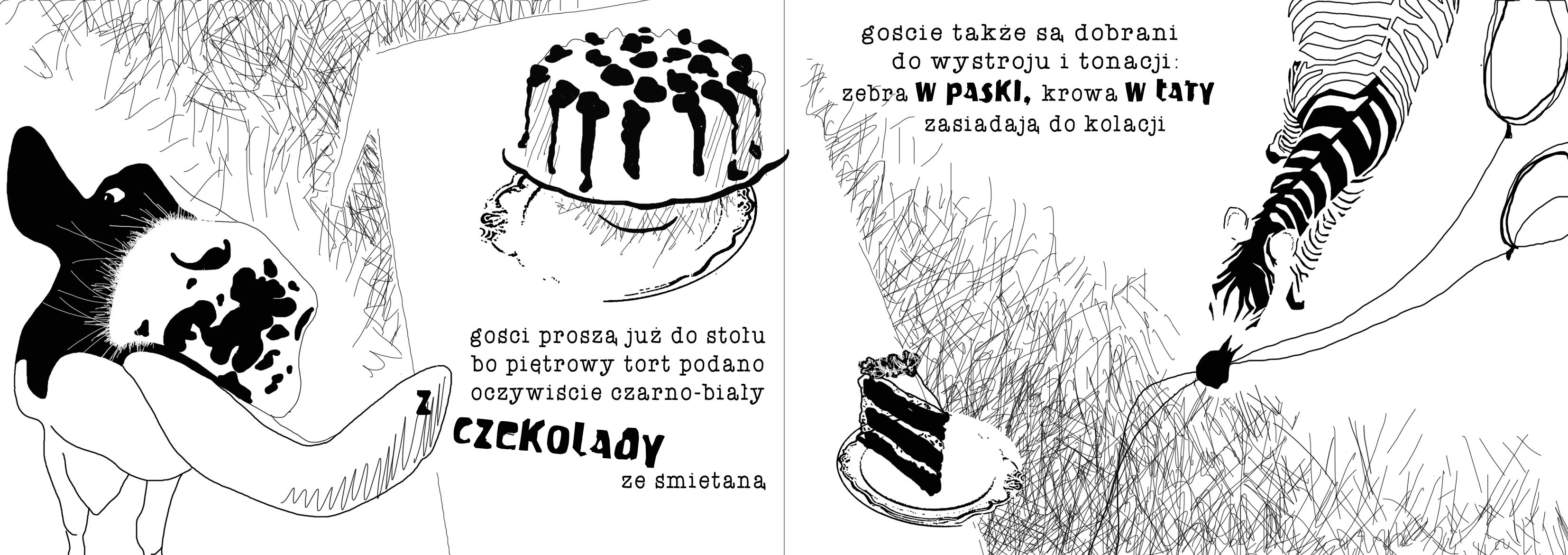 Zoografika Czarno Białe Urodziny Książki Dla Dzieci