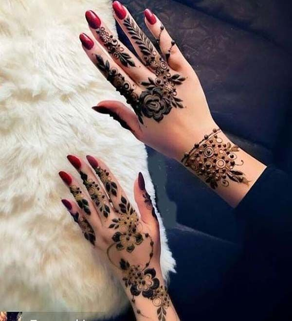 How To Apply Simple Arabic Mehndi Designs For Back Hands Henna Designs Feet Beautiful Henna Designs Mehndi Designs