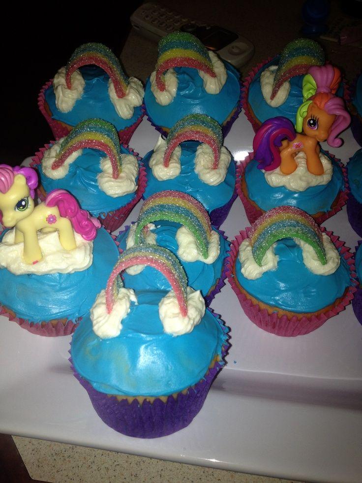My Little Pony Cupcakes Birthdays Pinterest Pony Pony party