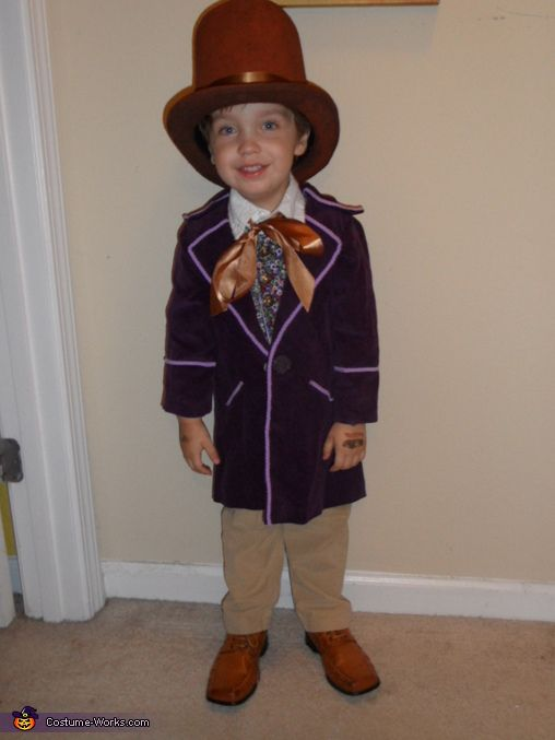 Little Willy Wonka - Halloween Costume Contest at Costume ...