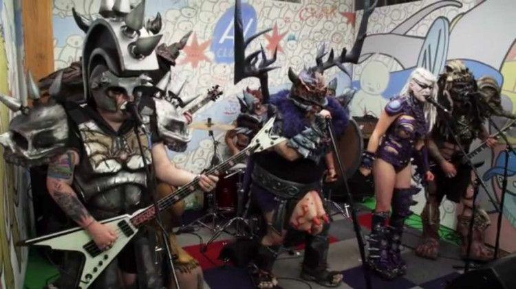 Thrash Metal Band Gwar Covers West End Girls By Pet Shop Boys