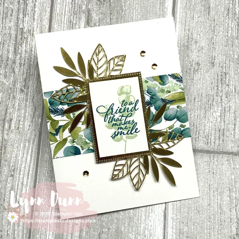 6 Simple Cards Featuring the NEW Forever Greenery Suite | Lynn Dunn
