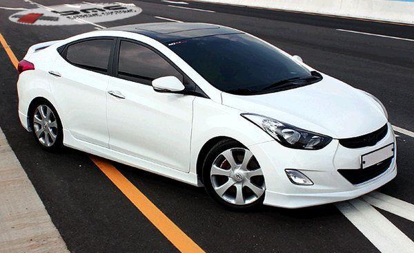2012 2013 Hyundai Elantra Mobis Body Kit 3 Jpg 600 368 Pixels Hyundai Elantra Elantra Hyundai