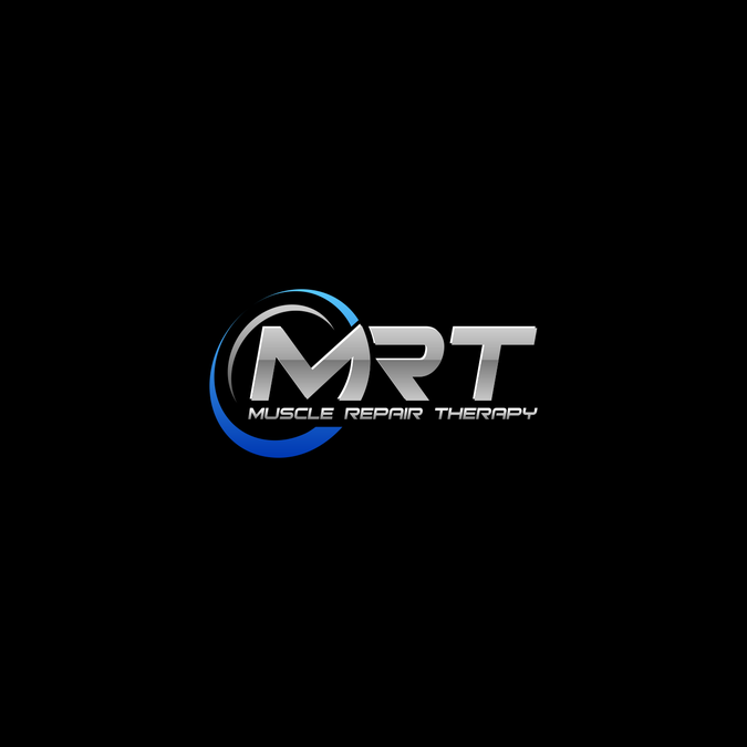 Mrt Muscle Repair Therapy By Vioo Business Card Logo Design Internet Logo Logo Design