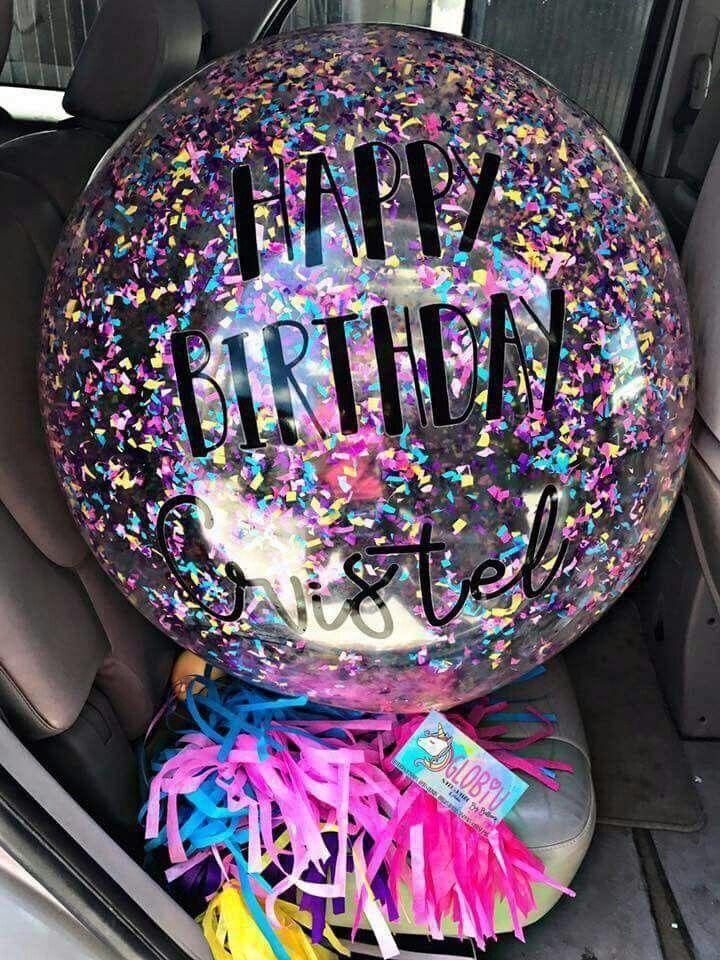 Pin de yaritza marlem agudo tagle en birthday 27 globos - Globos fiesta cumpleanos ...
