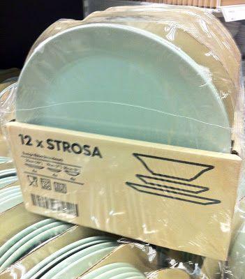 Seafoam IKEA Strosa dishes Wish List Pinterest Catalog - ikea küche värde katalog
