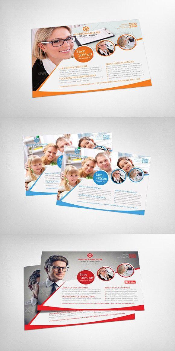 Corporate Business Flyer Template Multipurpose Flyer Multipurpose