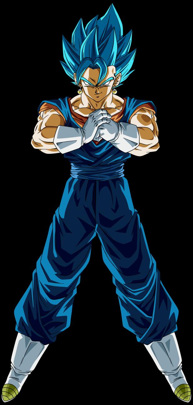 Vegito Super Saiyan Blue By Crismarshall On Deviantart Dragon Ball Super Manga Dragon Ball Super Wallpapers Super Saiyan Blue