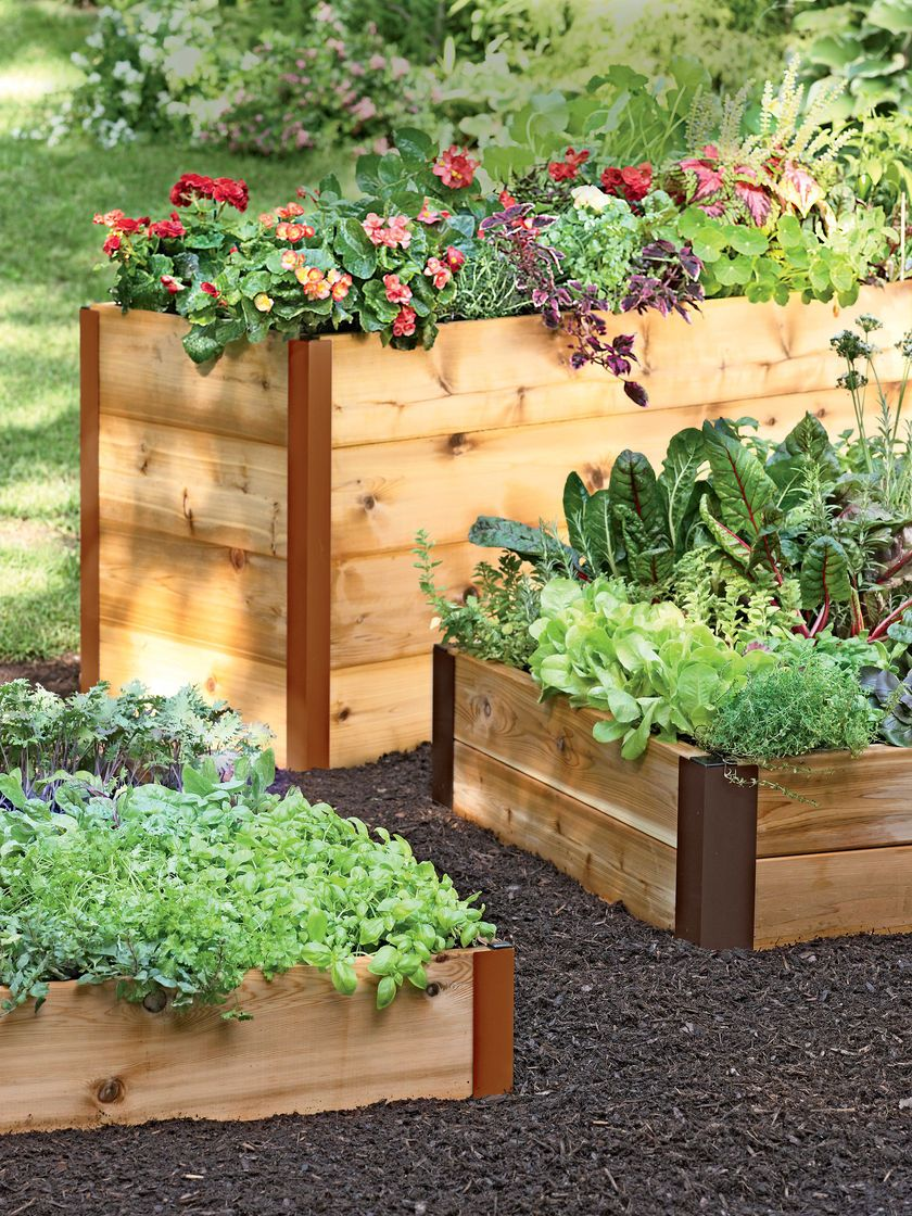 Elevated Cedar Raised Bed Kit Elevated Bed Made In Vermont