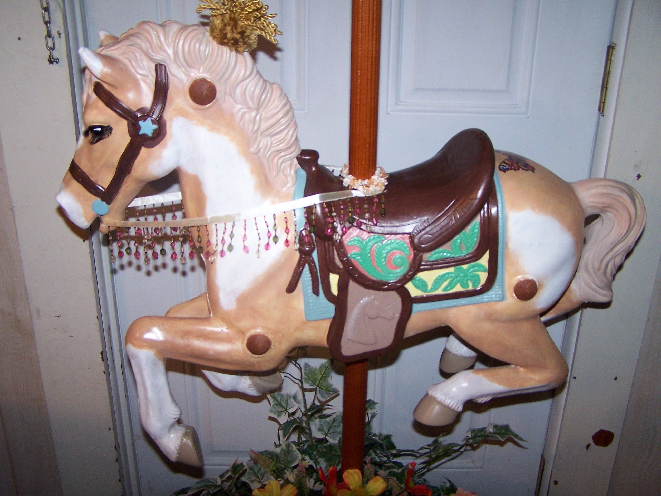 How To Create Your Own Carousel Horse and Stand From Childs Hobby ...