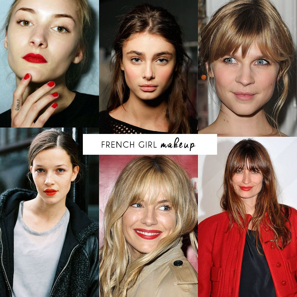 How to get the French girl look  is part of French makeup -