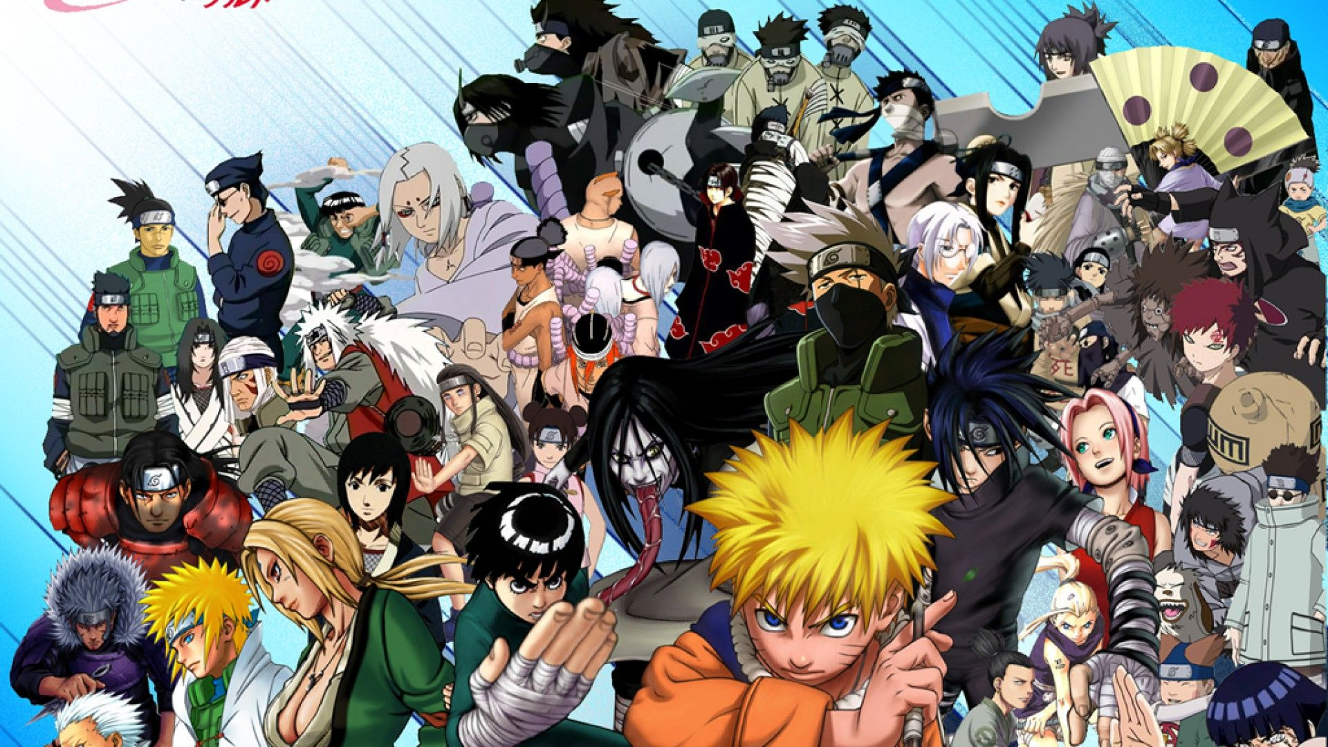 All Characters Naruto Hd Wallpaper Wallpaper Anime Naruto Wallpaper Anime Naruto