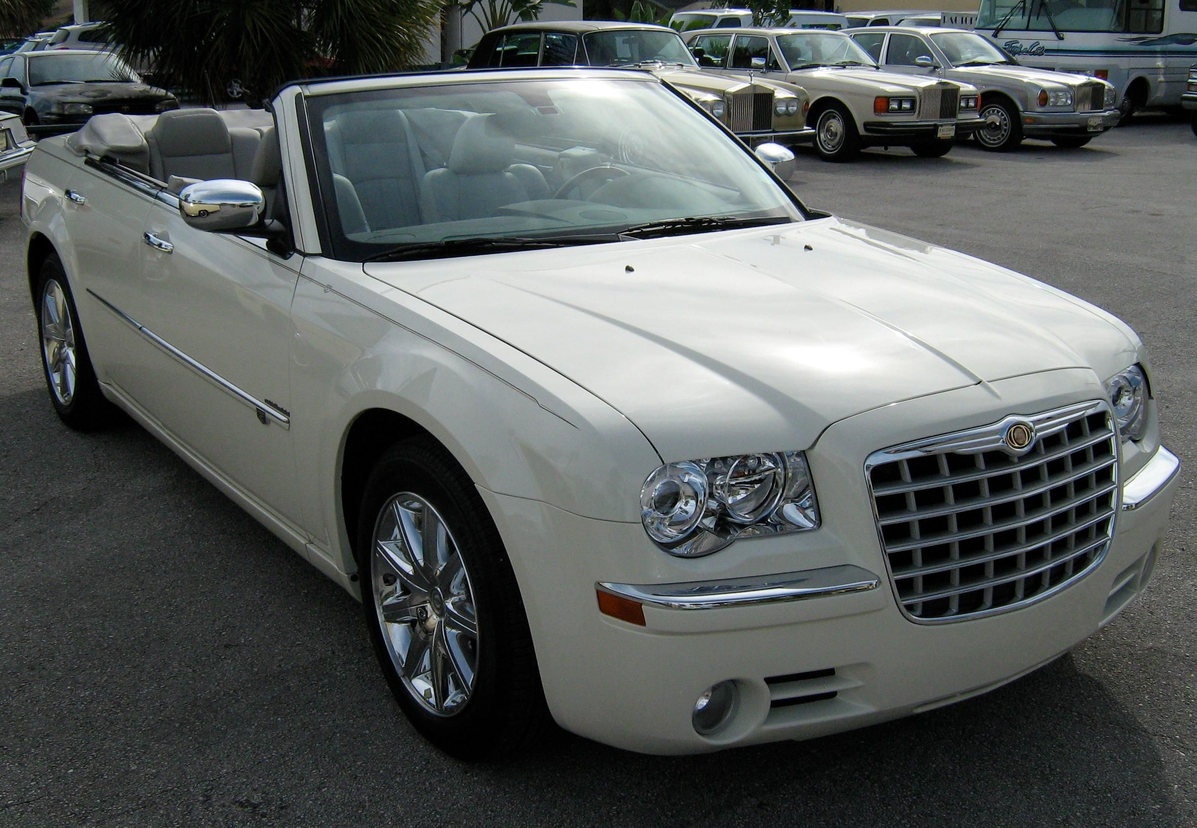 2008 Chrysler 300 Convertible Car Chrysler 300
