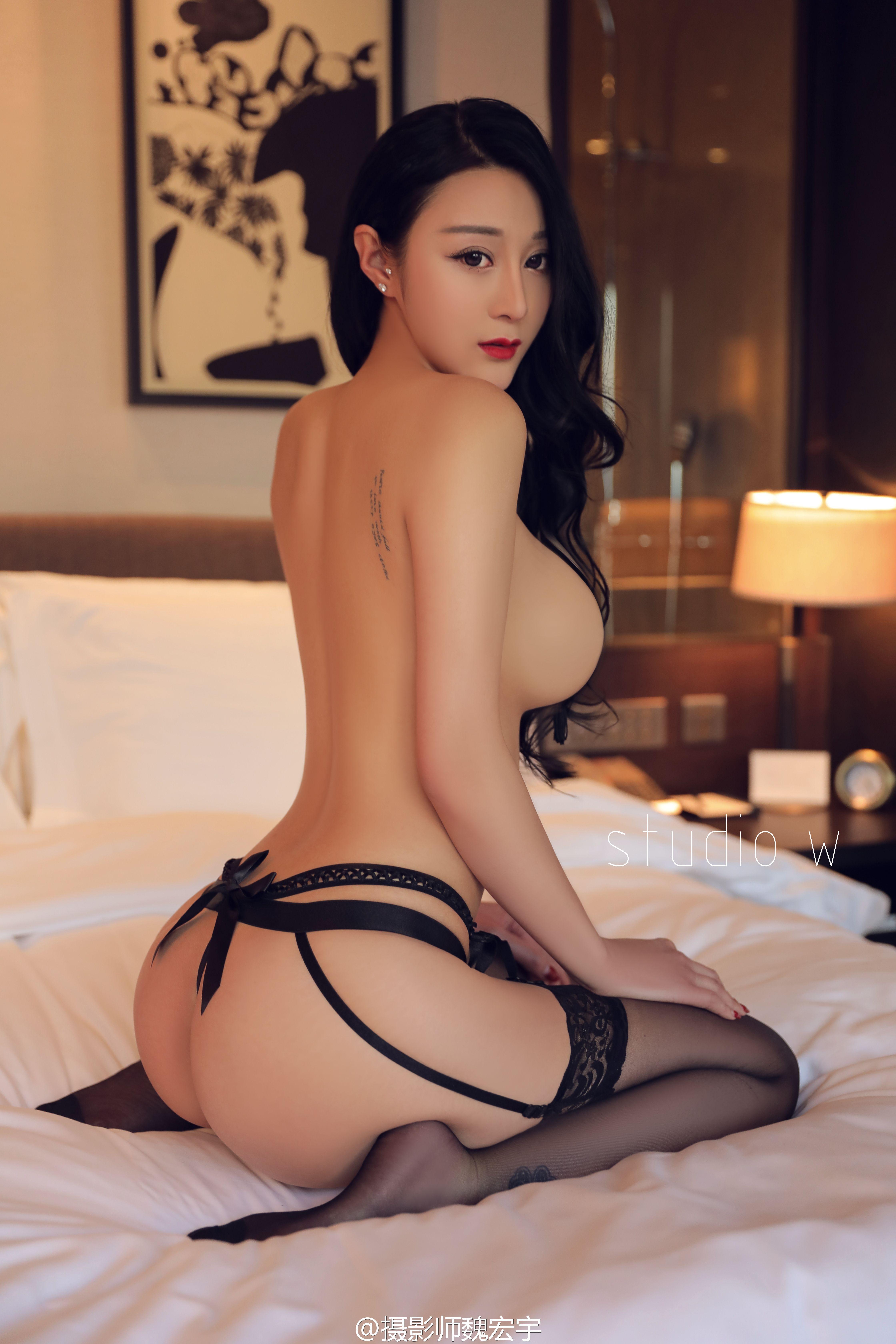 Portrait beautiful asian business woman wear stock photo