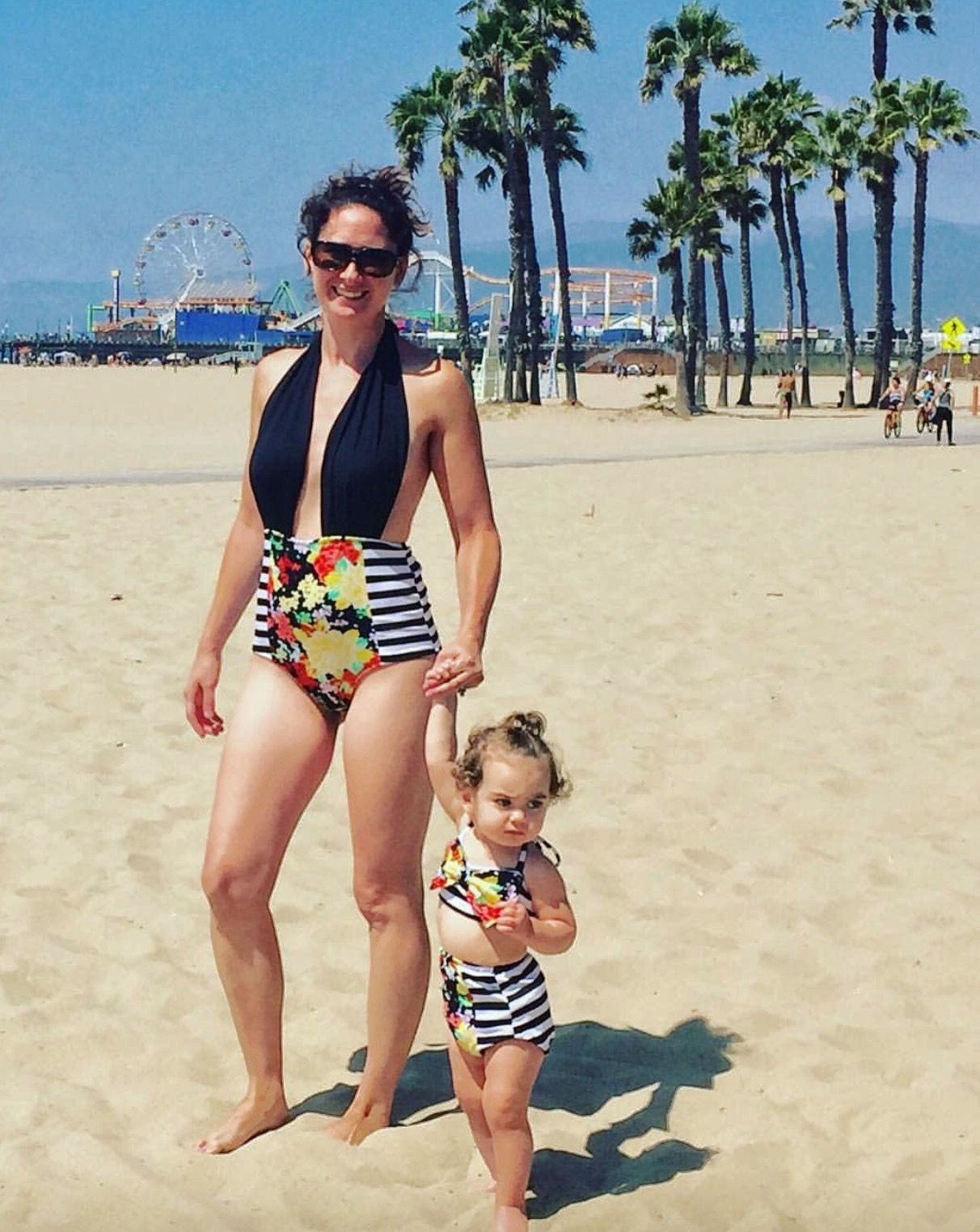 bf59641ab5 Mother Daughter Fashion, Mother Daughter Dresses Matching, Mother Daughters,  Matching Family Outfits,