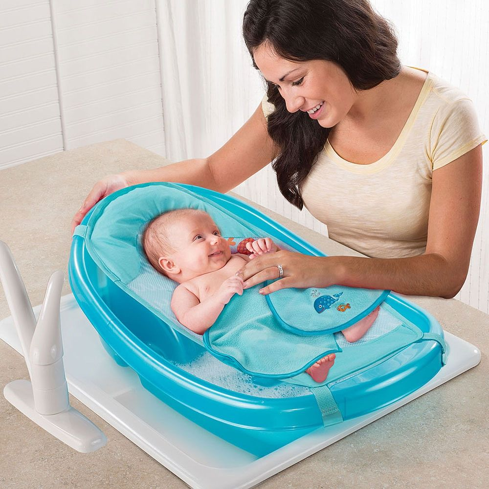 Babies R Us - Step By Step Newborn to Toddler Bath Tub - Under the ...