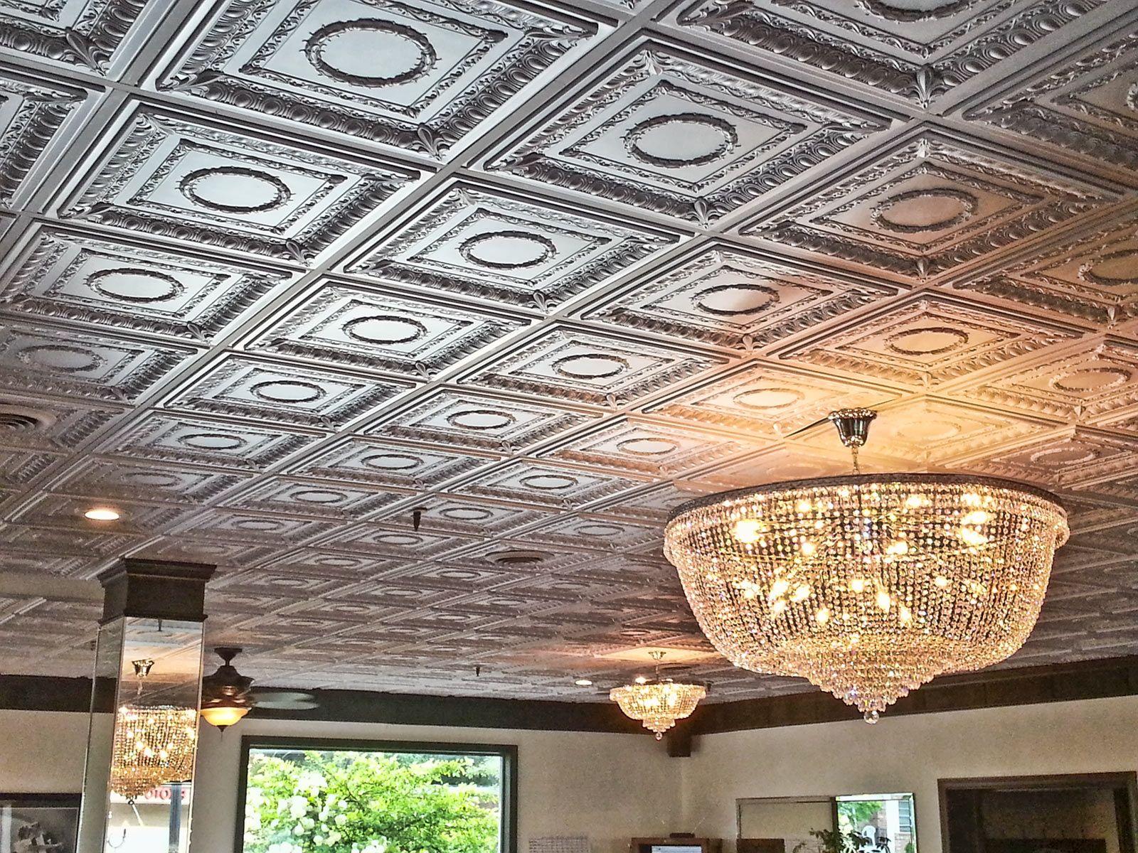 Decorative Ceiling Tiles Basement Ceiling Proceilingtiles Tin Ceiling Ceiling Tiles Drop Ceiling Lighting