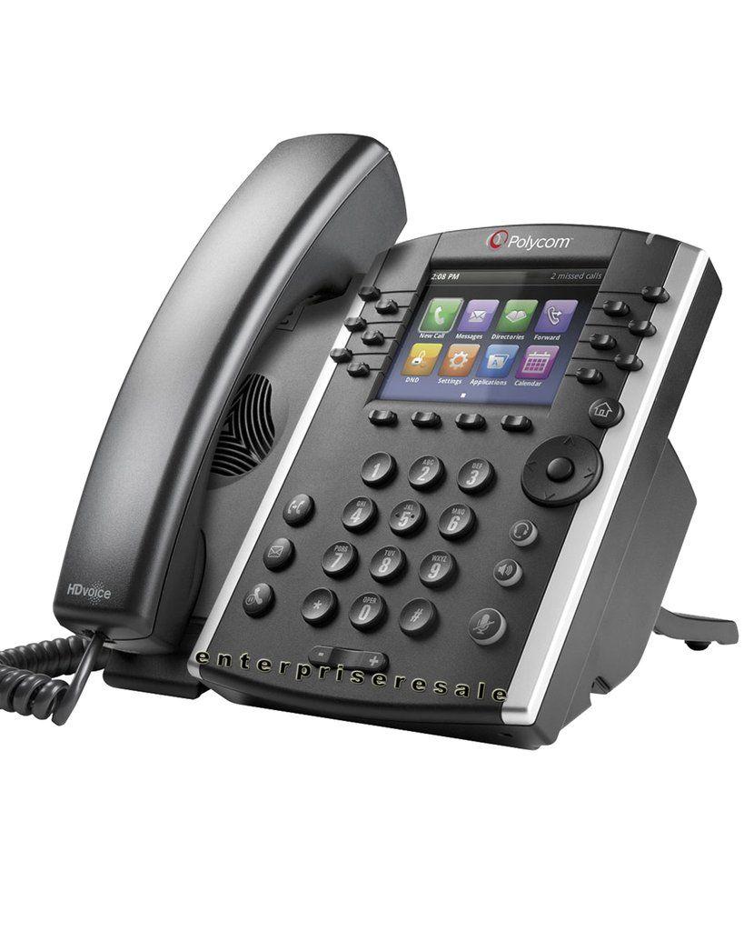 Polycom Vvx 401 12 Line Ip Phone 2200 48400 025 Poe