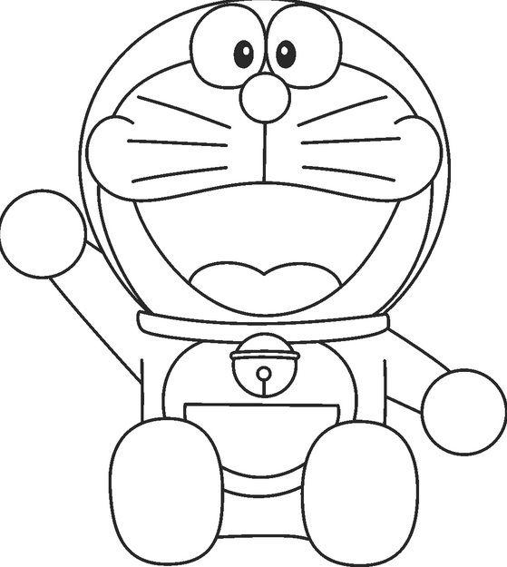 Mewarnai Gambar Doraemon Yang Unik