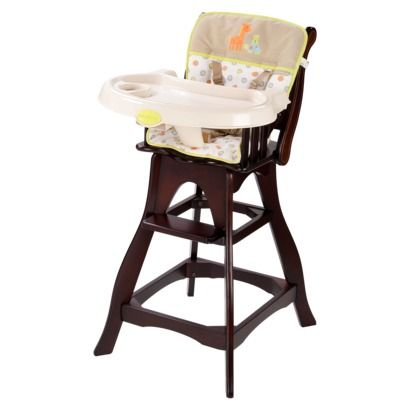 Just One You by Carteru0027s High Chair - Adorable/wooden high chair with reclining seat!  sc 1 st  Pinterest & Just One You by Carteru0027s High Chair - Bright Dots..I finally found ... islam-shia.org