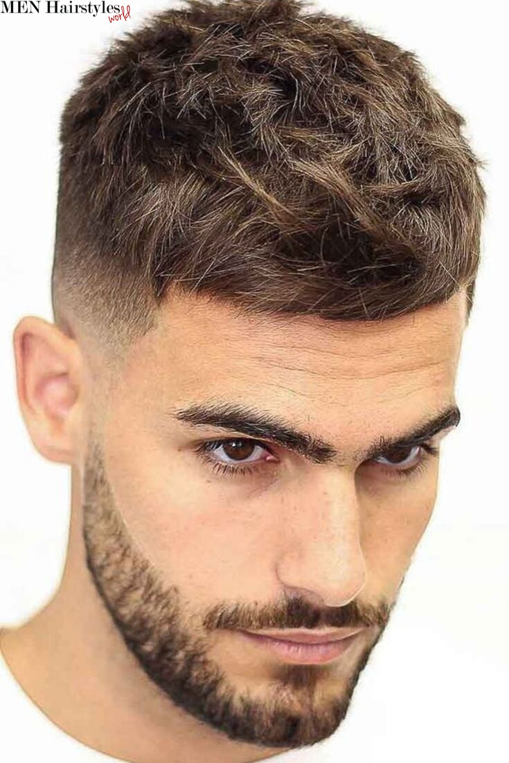 What Do All Brilliant Haircuts For Men Have In Common An Expertly Trimmed Contour And There S No Better Way Mens Haircuts Fade Crop Haircut Haircuts For Men