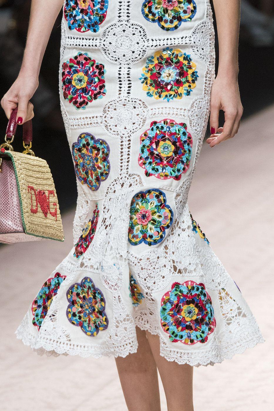Dolce & Gabbana at Milan Fashion Week Spring 2019   Crochet