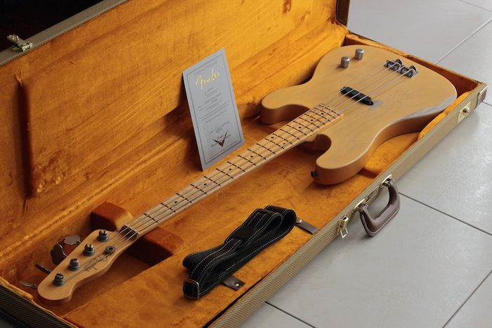 Fender Dusty Hill Signature Precision Bass bassebruno images