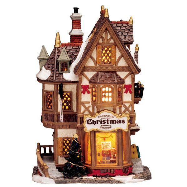 Lemax Village Collection Tannenbaum Christmas Shoppe #35845 ...