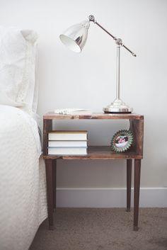 33 Simply Brilliant Cheap DIY Nightstand Ideas
