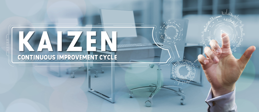 Implement kaizen process ppt powerpoint presentation inspiration.