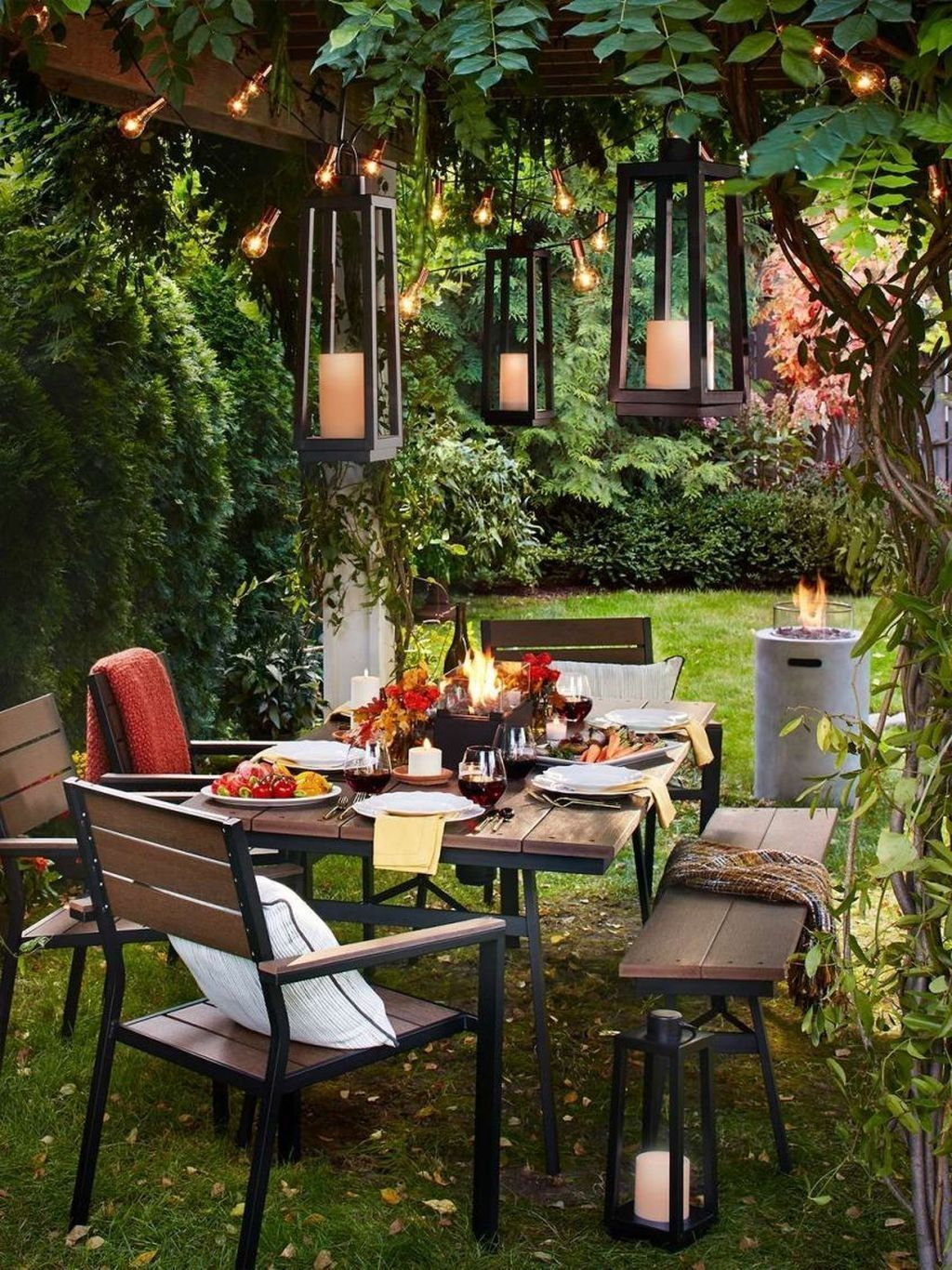 45 Outstanding Patio Yard Furniture Ideas For Fall To Try