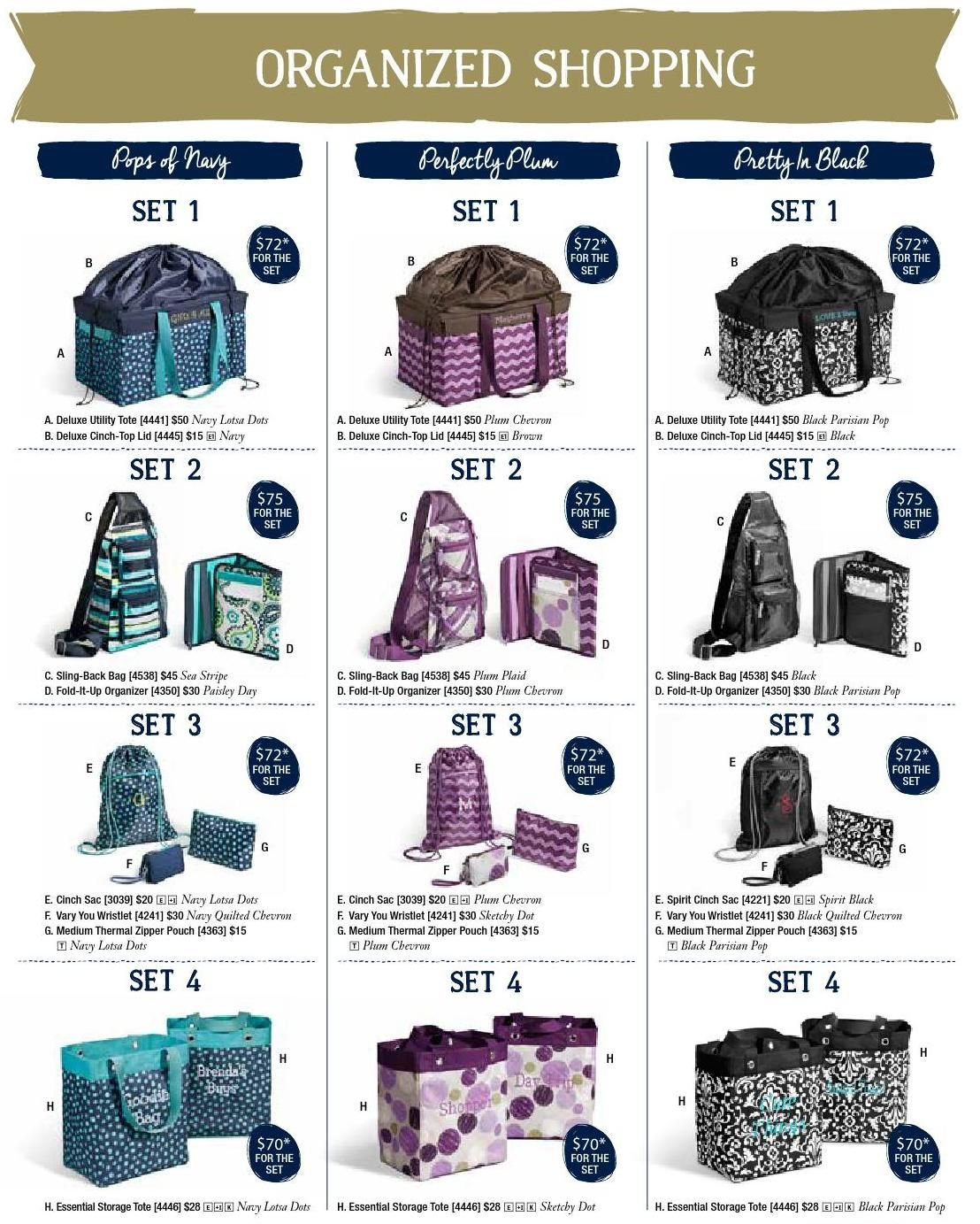 #ClippedOnIssuu from Thirty-One Catalog Fall 2014 organized shopping