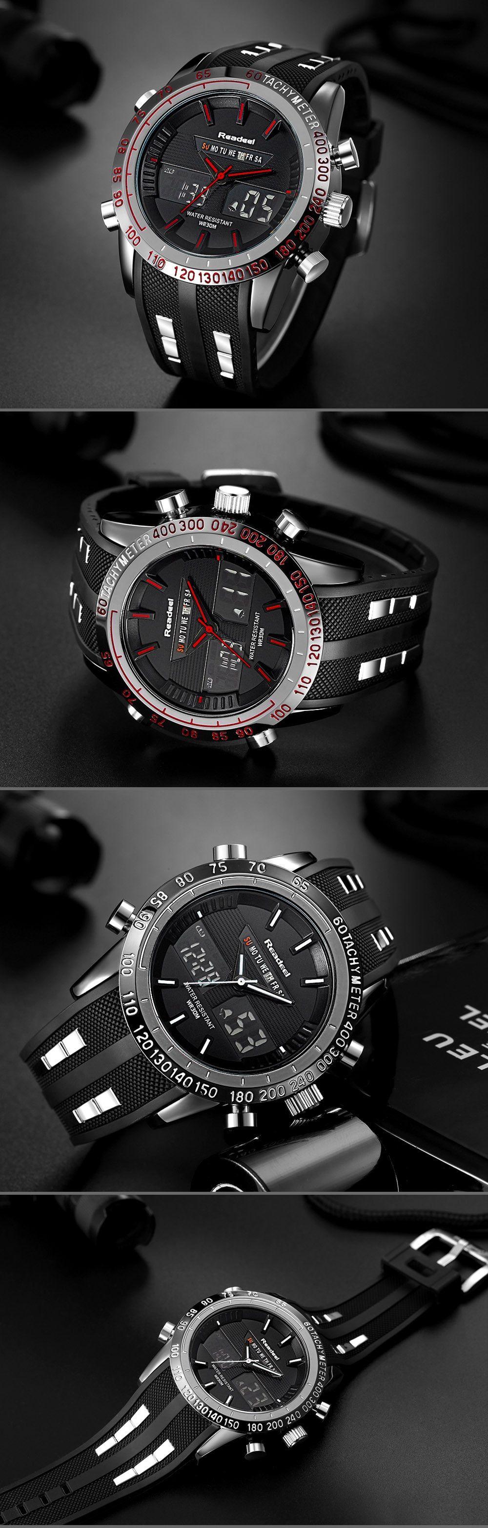 Luxury Brand Watches Men Waterproof Sports Watches