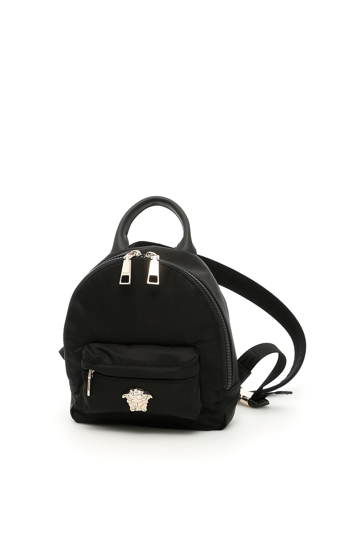5c71656fdf8 VERSACE NYLON PALAZZO MINI BACKPACK. #versace #bags #leather #lining #nylon  #backpacks #