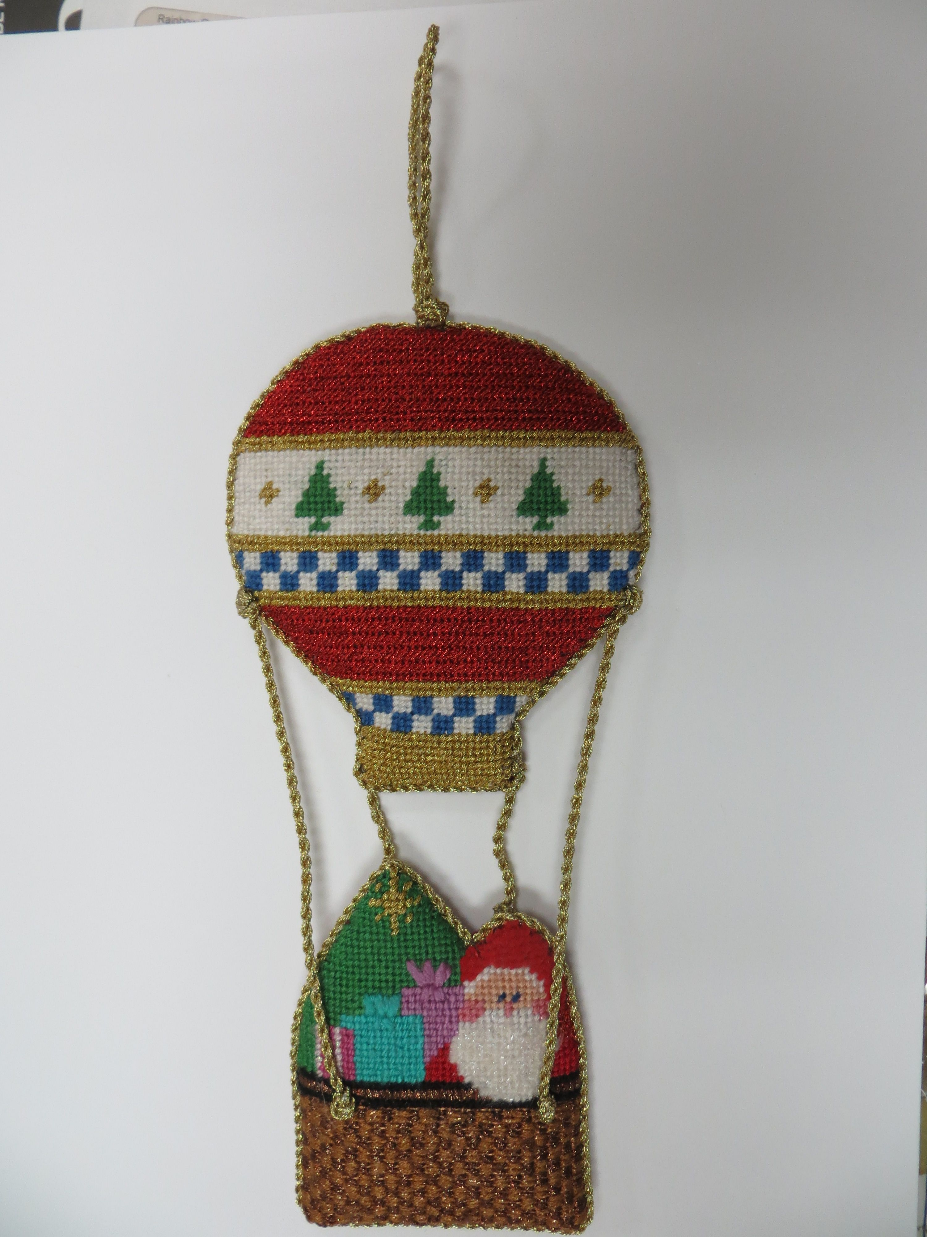 Hot Air Balloon ornament Balloons, Christmas ornaments