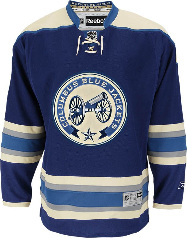 Columbus Blue Jackets Official Third Reebok Premier Replica NHL ...