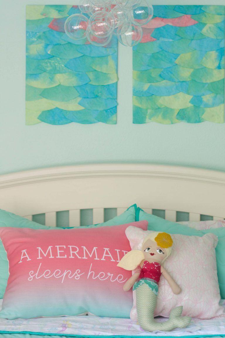 mermaids and whales shared kid u0027s room kid mermaids and shared