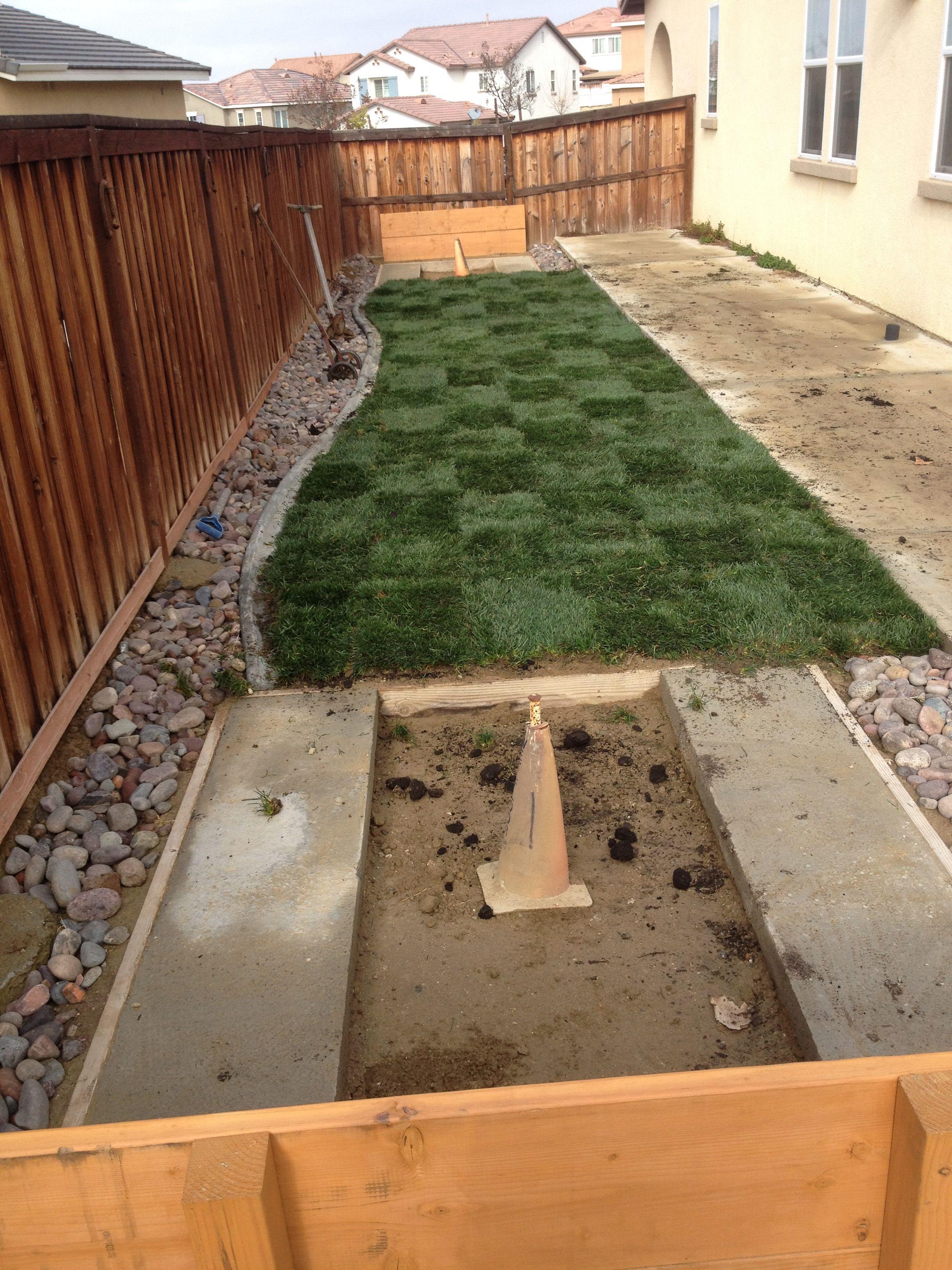 Side backyard/horseshoe pits Backyard, Outdoor, Outdoor