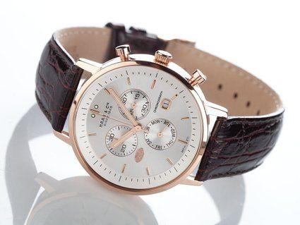 cf939a73c Vitesse Chronograph Redgold Gents Watch MFH211RSA: Amazon.co.uk: Watches