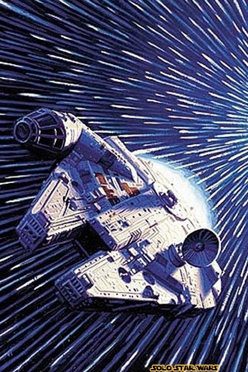Millenium Falcon And Hyperdrive Guerra De Las Galaxias bf7d3d20f2b2