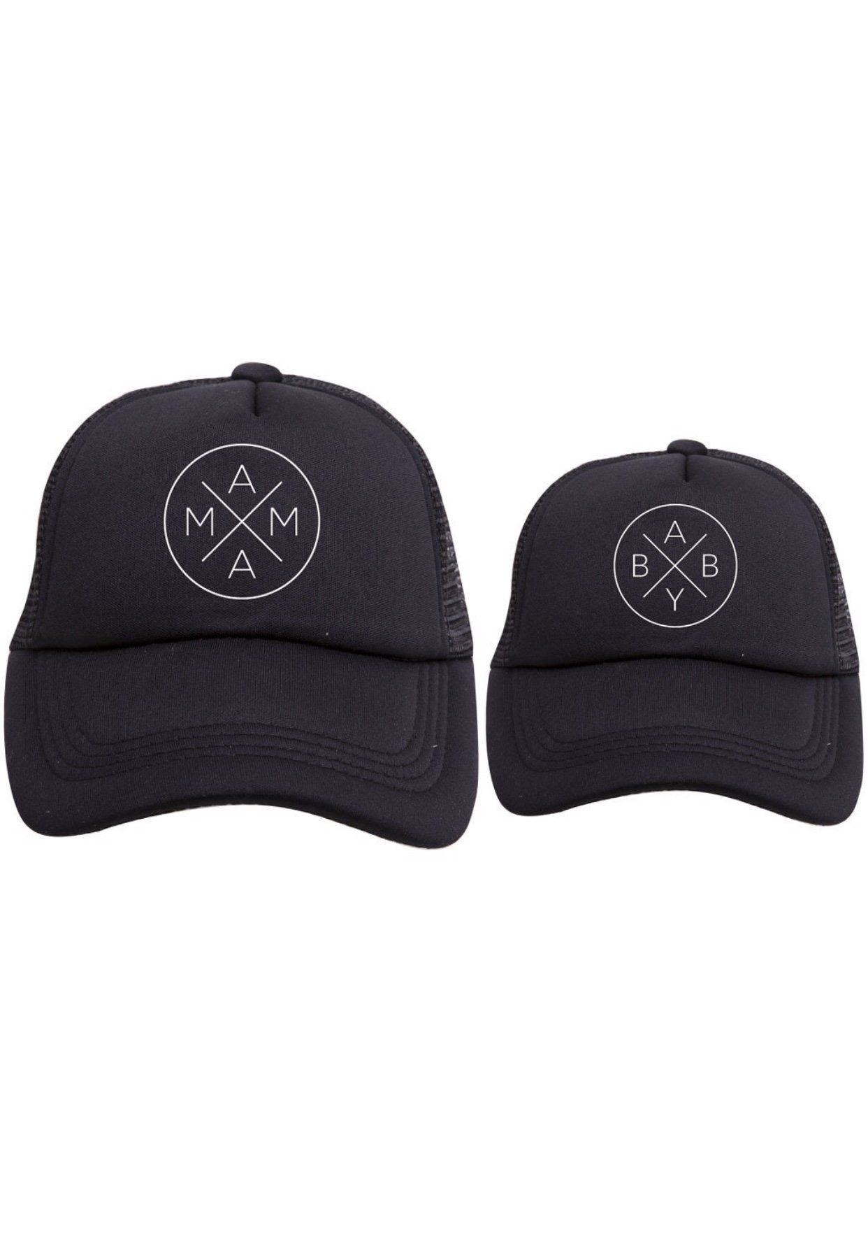 PREORDER - Mama and Baby X Hat Set  81b96fb42dae