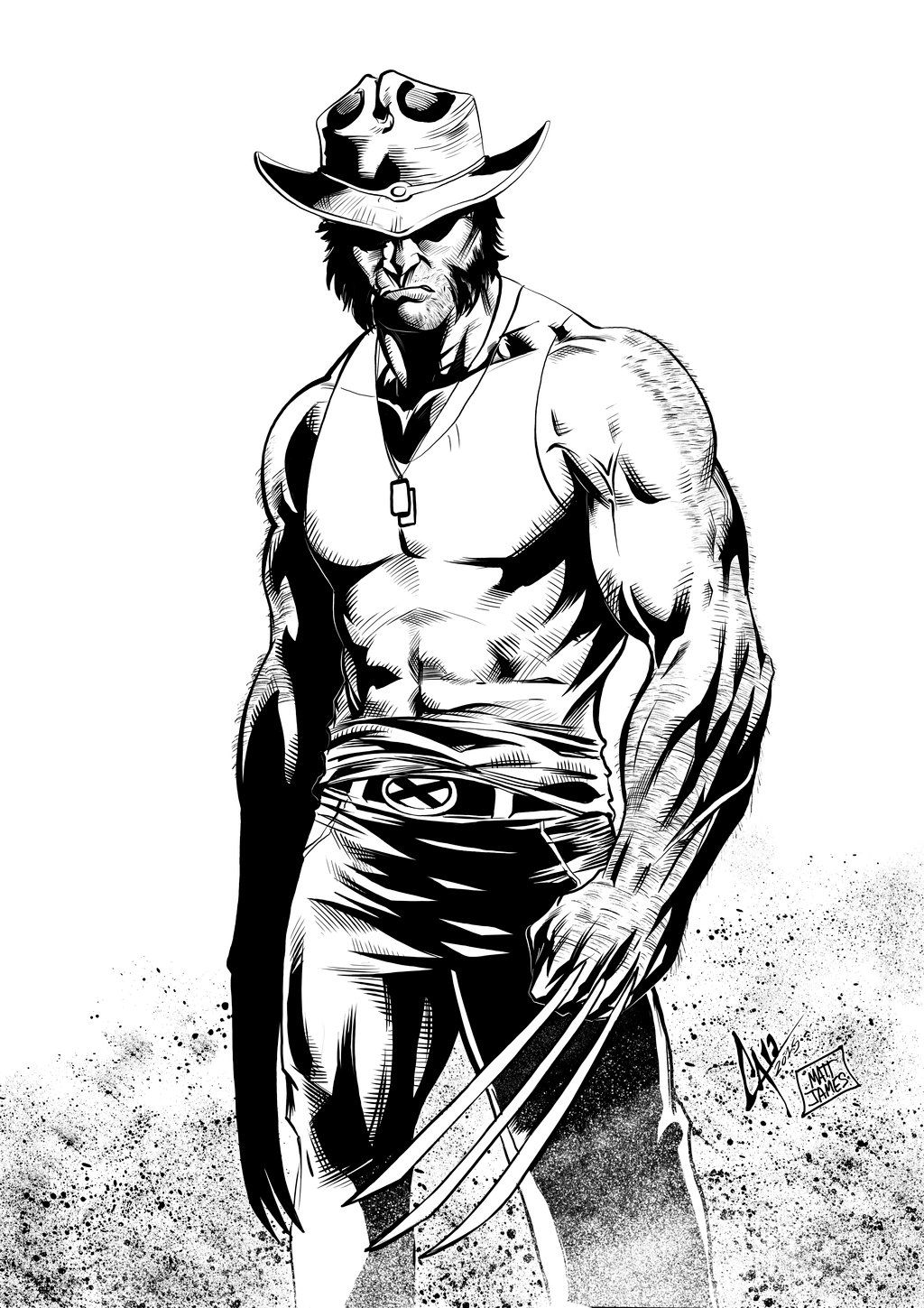 Wolverine - Pencils by Caio Marcus & Digital Inks by Matt James ...