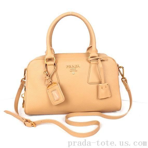 Authentic  Prada Grainy Leather Boston Bag onnline sale  9a5c5a8ac8b2d