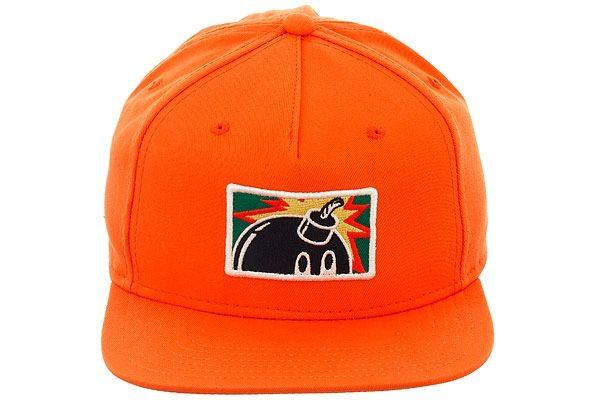 9ddefb3e475 The Hundreds Patch Adam Bomb Snapback Hat