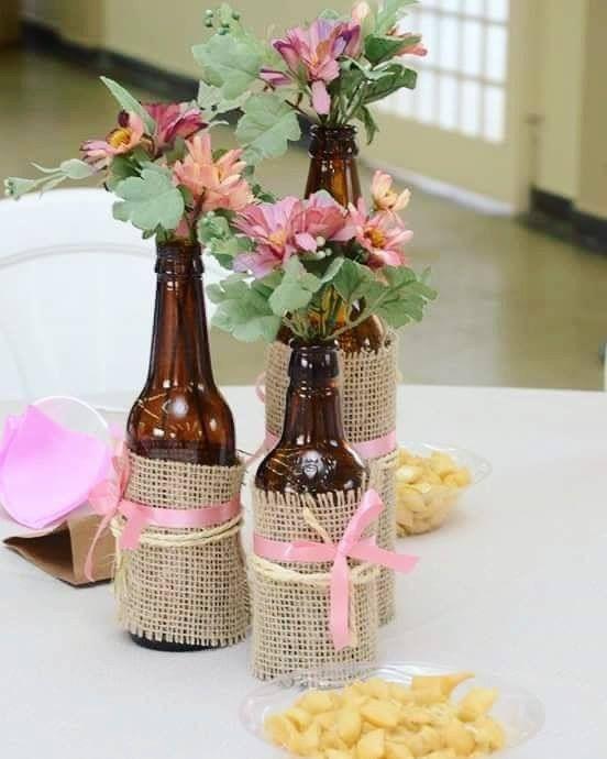 16 Ideas De Frascos Centro De Mesa Frascos Decoración De Botellas Botellas