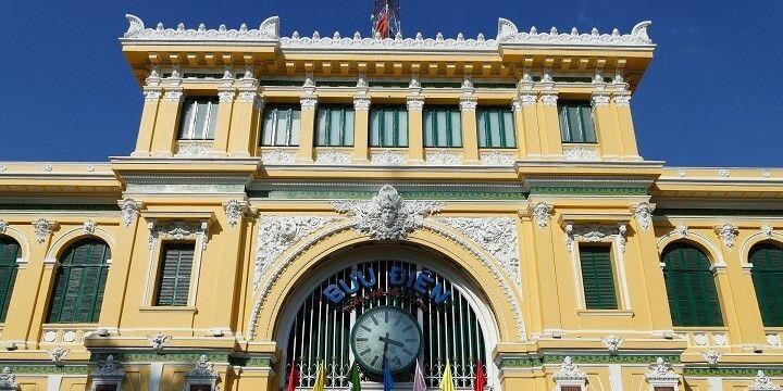 Central Post Office, Ho Chi Minh City, Vietnam, Asia
