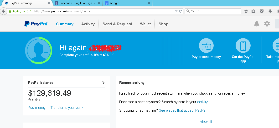 Paypal How To Add Money From Credit Card