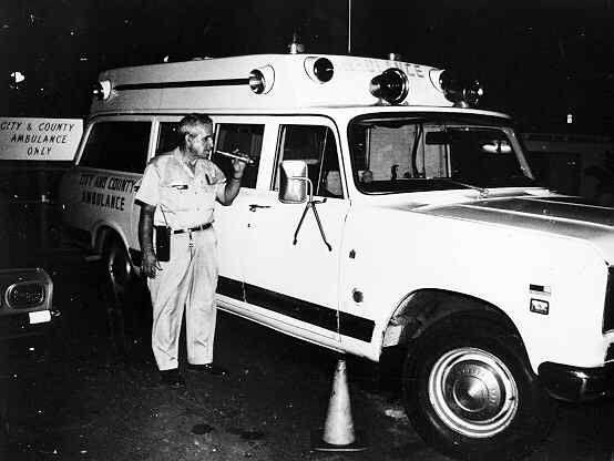 City County Of Honolulu 1972 Emergency Vehicles Ambulance Hearse
